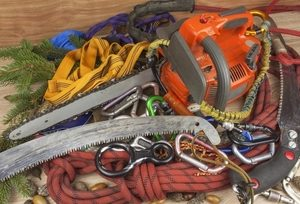 Close up picture of climbing equipment in Independence, MO